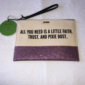 NWT! Kate Spade Disney Wristlet - Limited Edition